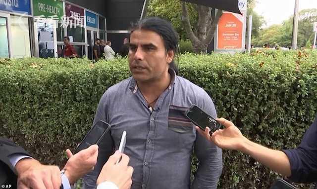 男子与新西兰恐袭歹徒搏斗 称自己非英雄