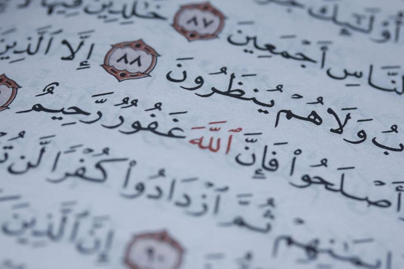 文章中的古兰经为什么不用书名号